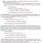 AA Fare Basis Codes Example