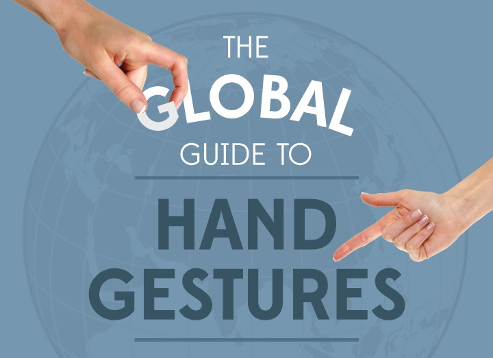 Global Guide to Hand Gestures Infographic