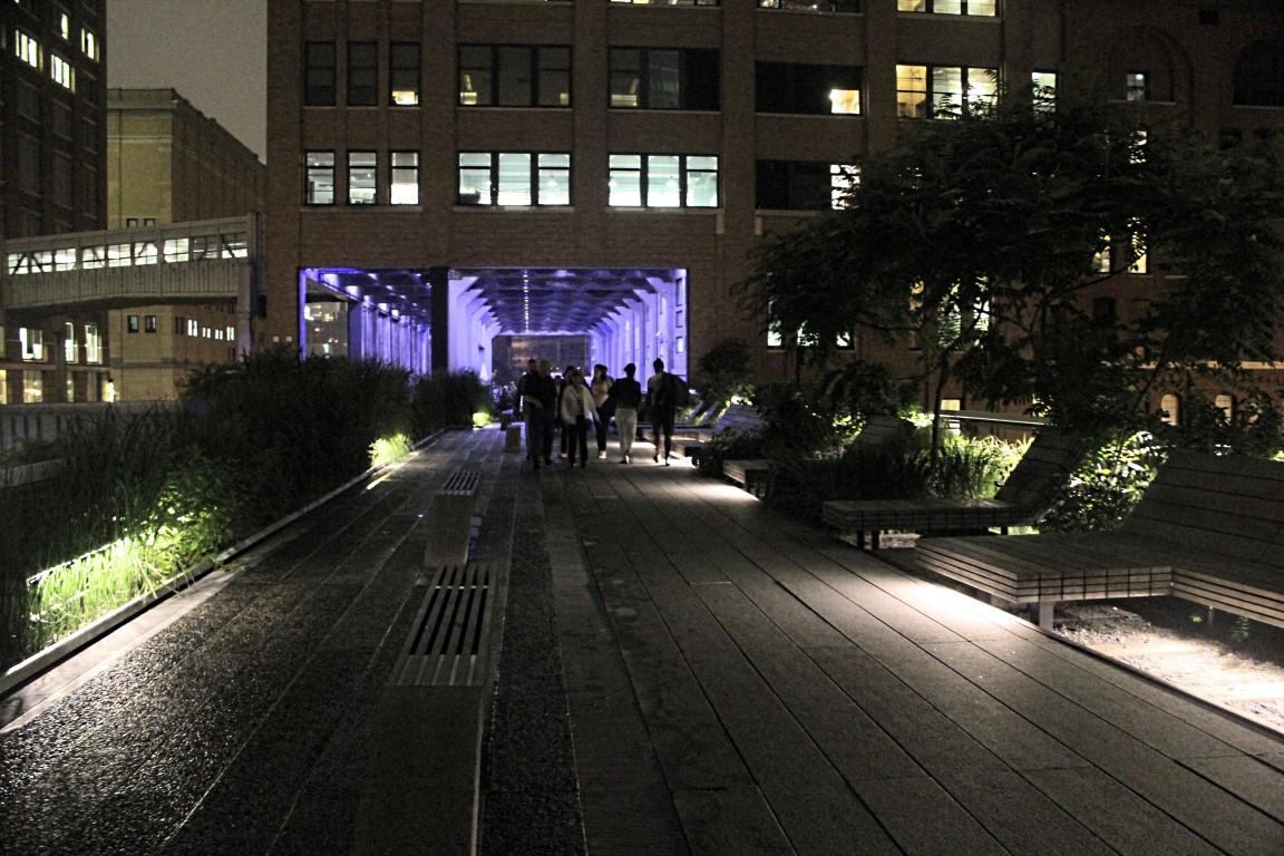 Streets Below High Line Park