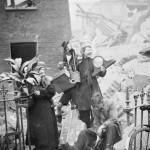 London Women Salvaging Damage After German Bombings