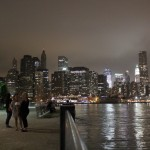 Manhattan Skyline from Brooklyn Bridge Park at Dusk