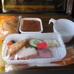 Aeroflot Meal In-Flight