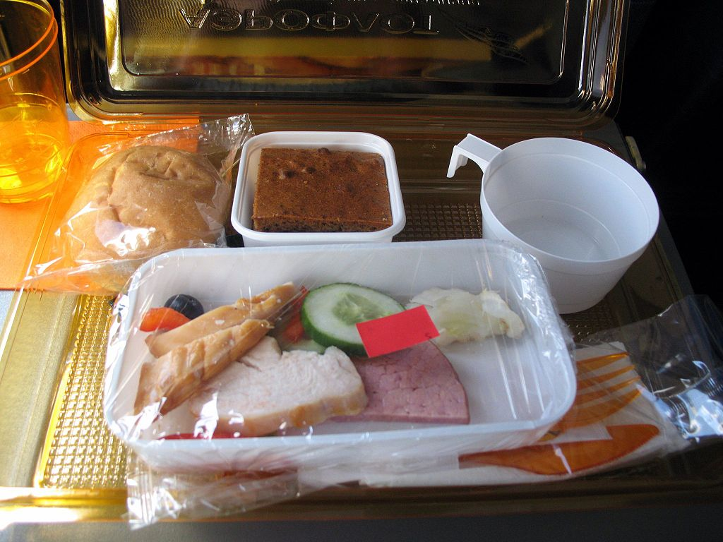 Aeroflot Meal In-Flight