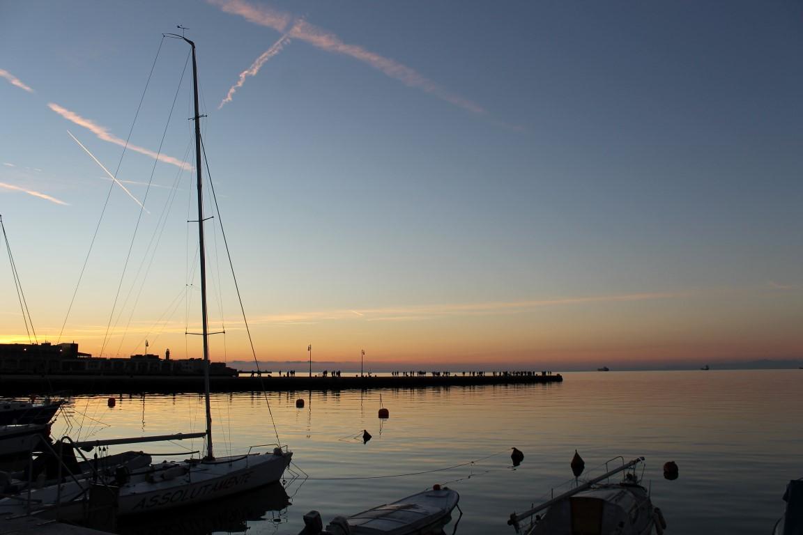 Gulf of Trieste Dusk