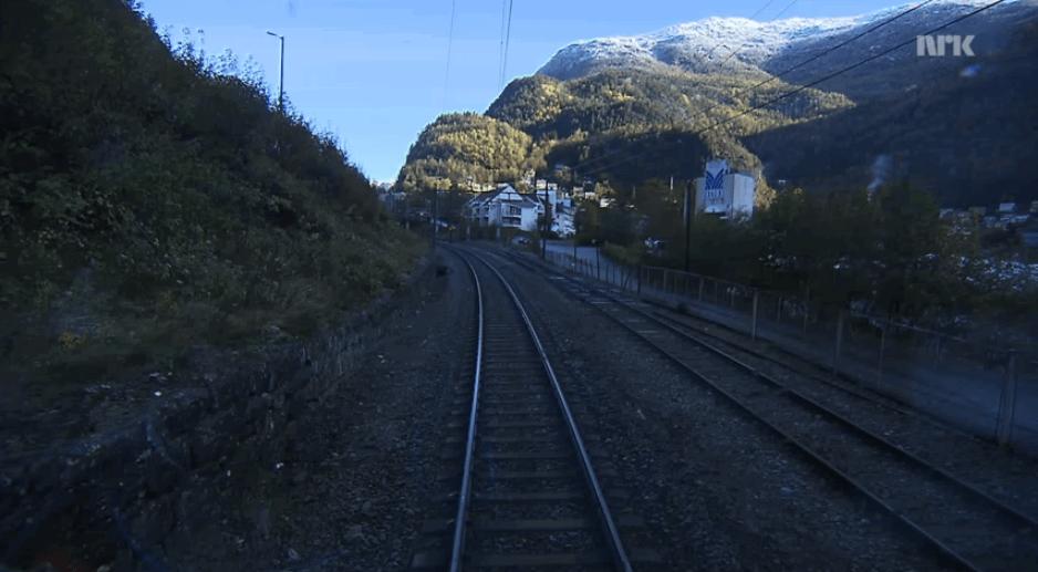 Bergen to Oslo Train