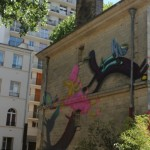 Graffiti around Paris