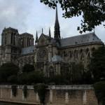 Notre Dame de Paris Southern Facade