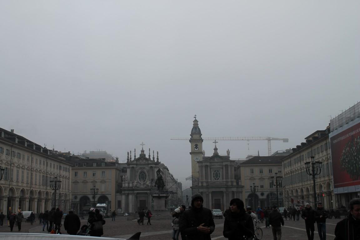 Torino Italy at Night
