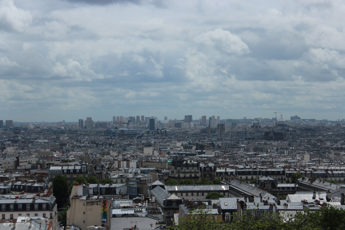 Paris from Up High