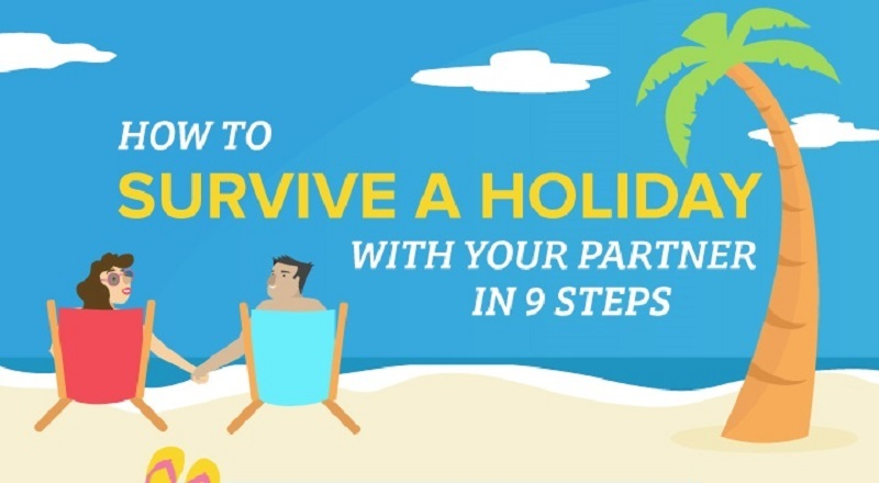 Survive Holiday with Partner Infographic