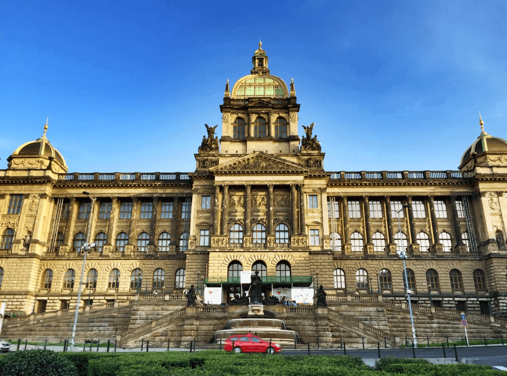 National Museum Wenceslas Square Prague