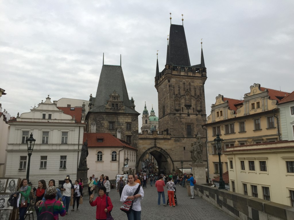 Charles Bridge Tower Prague