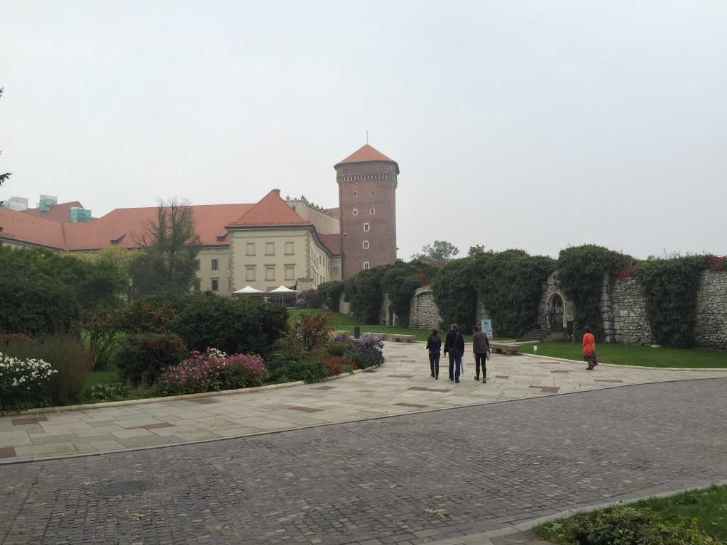 Krakow, Poland, near Wawel Castle