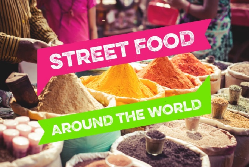 Street Food Around World Infographic