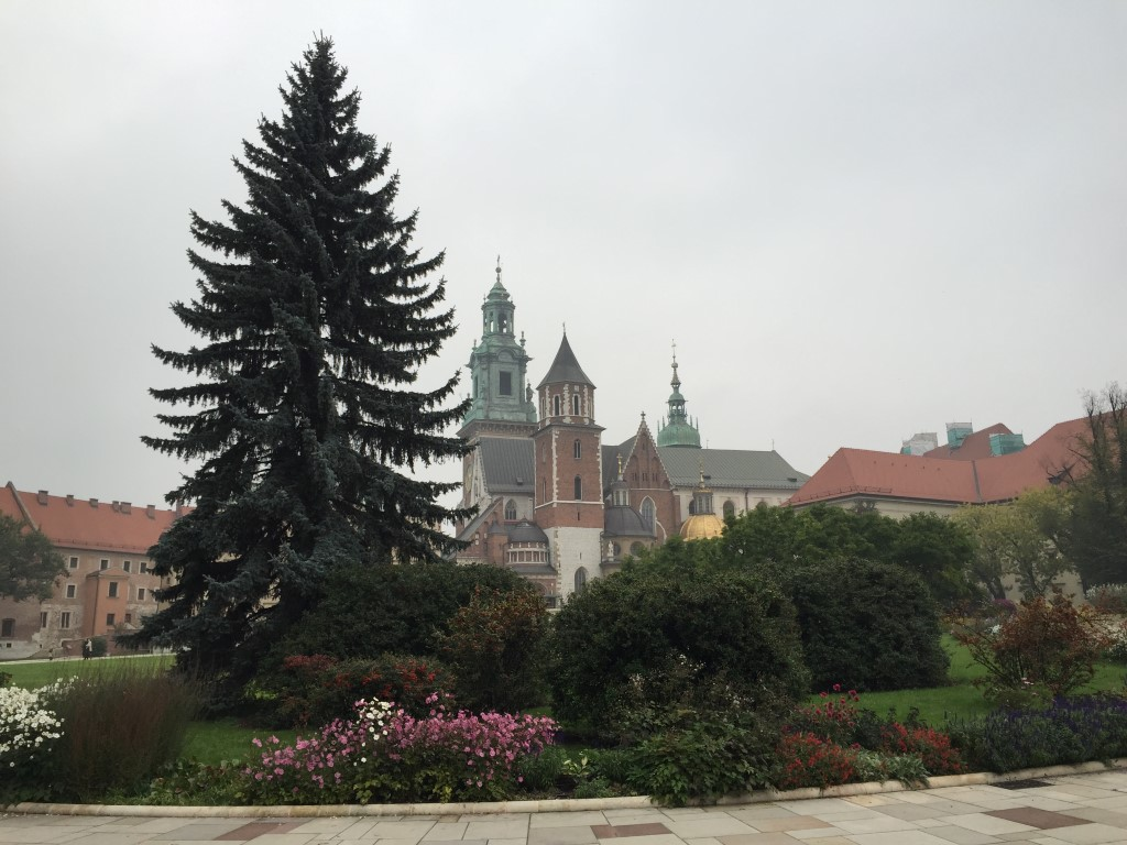 Wawel Castle Grounds Krakow Poland