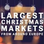 7 Euro Xmas Markets Infographic