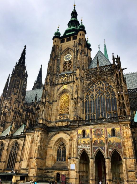 St Vitus Cathedral Prague Czech Republic