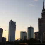 Downtown Warsaw Palace of Culture and Science
