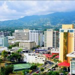 Kingston, Jamaica Cityscape