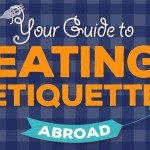 Guide Eating Etiquette Abroad Infographic