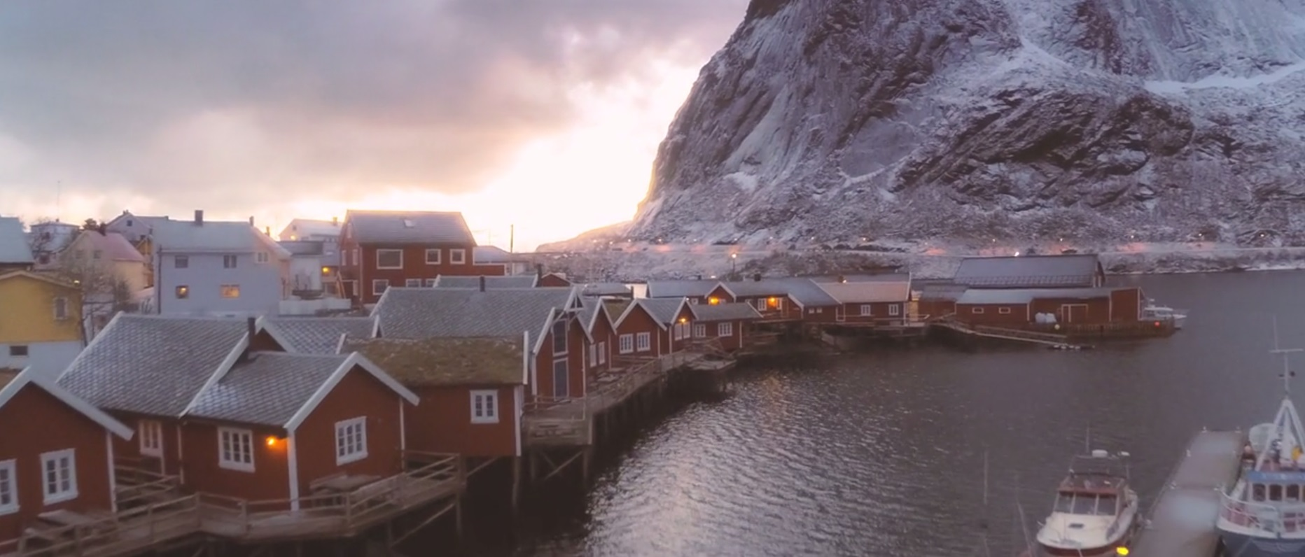 Lofoten. One Flew over Norway Featured