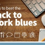 6 Ways Beat Back to Work Blues Infographic