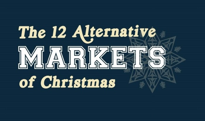 12 Alternative Christmas Markets Infographic Featured