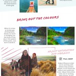Travel Image Editing Tips Infographic