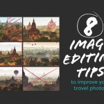 Travel Image Editing Tips Infographic Featured